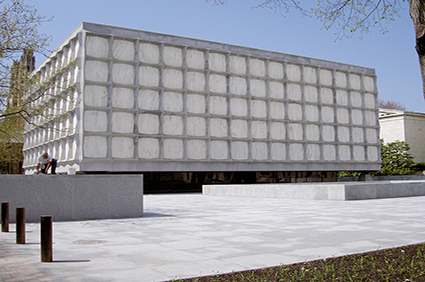 Beinecke-Rare-Book-and-Manuscript-library-Connecticut-USA