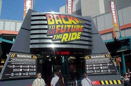 Back-to-the-Future-ride