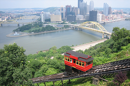 Monongahela-and-Duquesne-Inclines,-Pittsburgh,-Pennsylvania