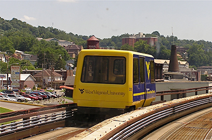 Personal-Rapid-Transit,-Morgantown,-West-Virginia