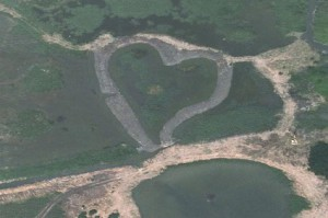 Heart-Shaped Wetland, Guandu Nature Park, Taiwan