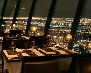 360 Restaurant at the CN Tower in Toronto, Canada