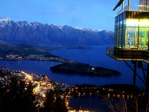 Skyline Restaurant in Queenstown, New Zealand