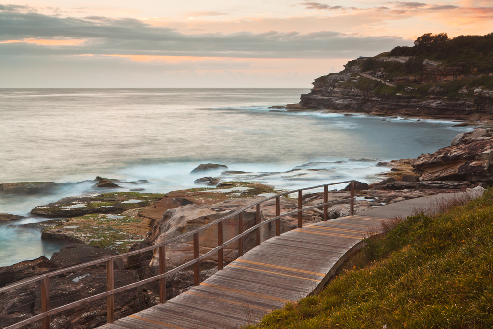 Coastal Walk between Bondi and Coogee