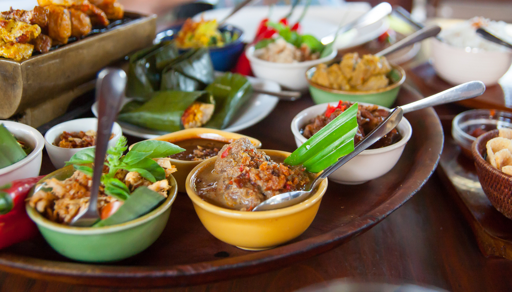 Balinese gourmet for high-spirits