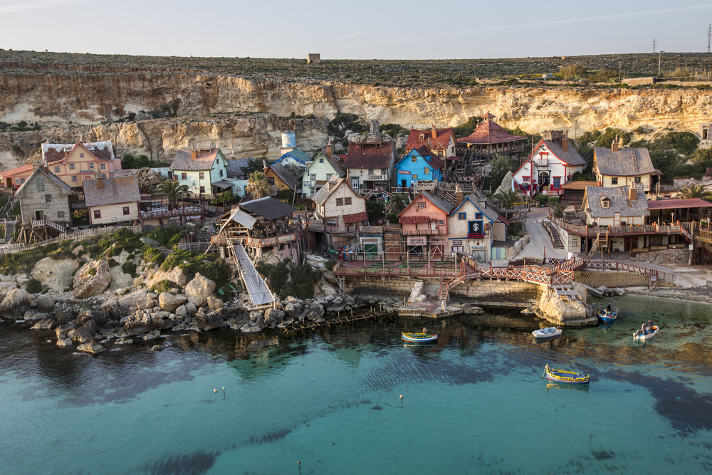 Popeye Village, Anchor Bay